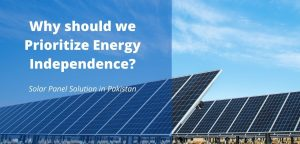 Why should we Prioritize Energy Independence?